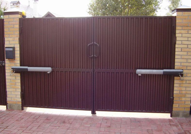 Распашные ворота в Ростове-на-Дону, качественный монтаж и